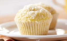 Citronmuffins med ingefära
