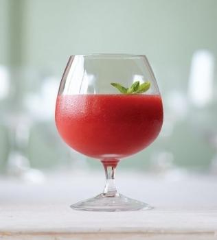 Agua Fresca med jordgubbar