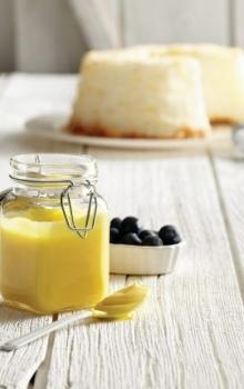 Lemon curd med honung