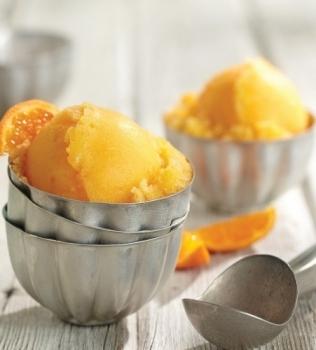 Apelsin-Avokado sorbet