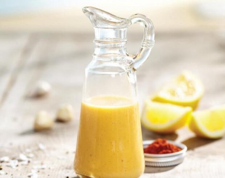 Citron – och Vitlöksdressing