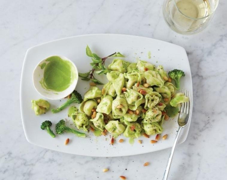 Tortellini med Broccolipesto