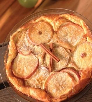 Nederländsk äppelpannkaka