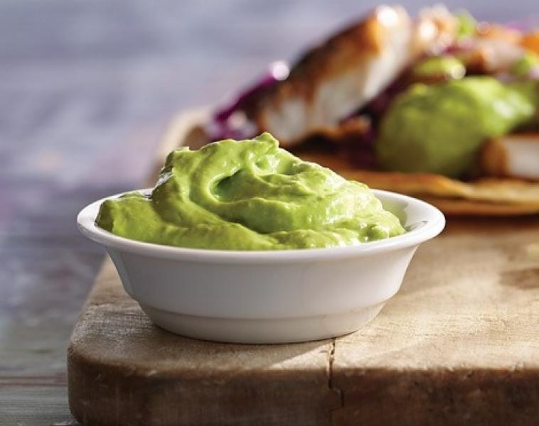Avokado – och yoghurtsås