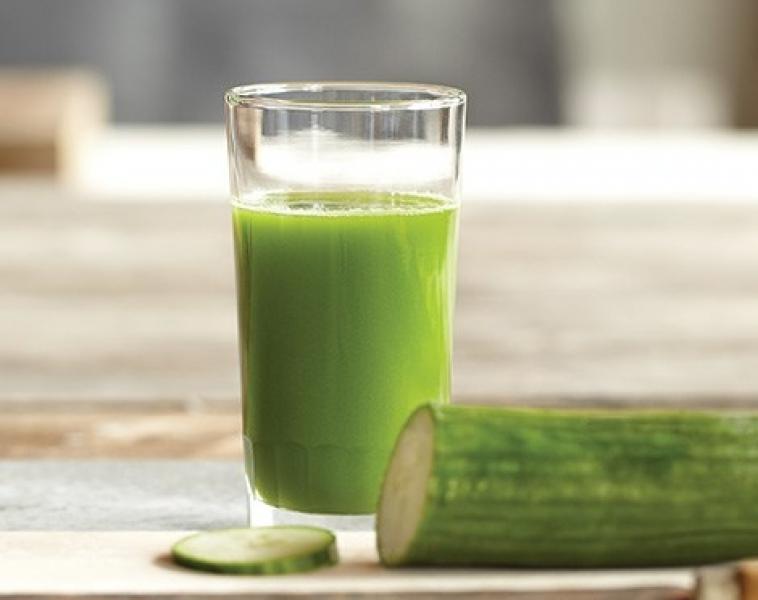 Grön Juice med Ingefära