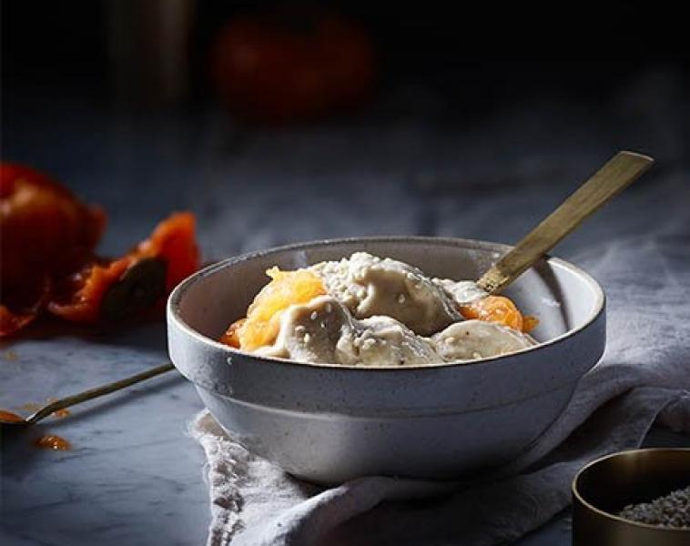 Nice Cream med Sesamfrön